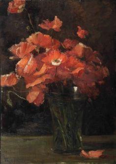 Thérèse Schwartze (1851-1918) | Papavers | 19th Century, Paintings | Christie's
