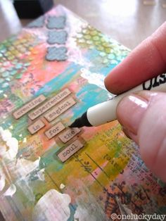 """I started out making a card this morning, but just wasn't """"feeling it"""" . So I gathered everything up and put it to the side and started wi..."""