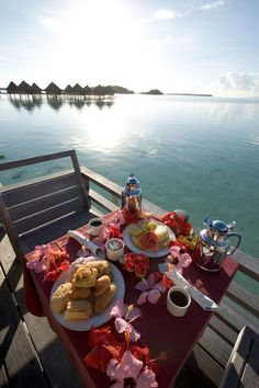 best Breakfast with a view #view #breakfast - al aire libre