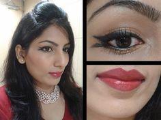 What Am I Wearing Today: Lakme Sabhyasachi Inspired Fishtail Eye Liner