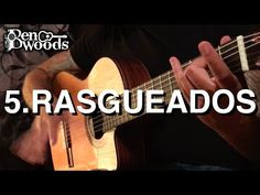 (67) 5.Rasgueados - Ben Woods Flamenco Guitar Techniques - YouTube