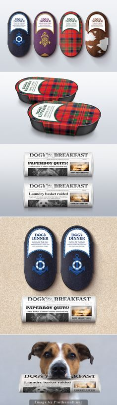 #Dog's Dinner (Concept), Creative Agency: Afterhours - http://www.packagingoftheworld.com/2014/10/dogs-dinner-concept.html