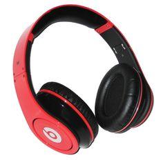 Monster Beats by Dre Studio red headphones