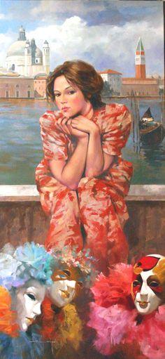 Kai Fine Art is an art website, shows painting and illustration works all over the world. Italian Painters, Italian Artist, Henri Matisse, Claude Monet, Graffiti, Beauty In Art, Surrealism Painting, Sculpture, Surreal Art