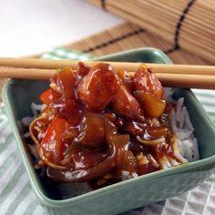 Knusprige Bauernbällchen mit süß-saurer Sauce Rezept   Küchengötter