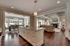 """2013 white kitchens parade of homes 