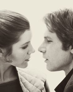 """But if she says, 'I love you,' and I say, 'I know,' it's beautiful and it's acceptable and it's funny. The point is, I'm not worried about myself anymore; I'm worried about her."" Harrison Ford about the ""I know"" line in Episode V: The Empire Strikes Back via thrivingtwenties"