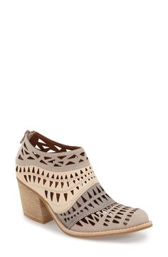 Obsessed with these Jeffrey Campbell 'Faviola' cutout booties. The detailed cut outs are such a fun and fancy way to jazz things up a bit.