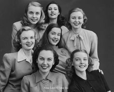"""""""The American Look of 1945"""" by Nina Leen"""