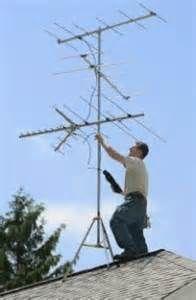 50's & 60's Iedereen met een TV had een antenne op het dak