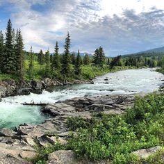 This picture sums up what I love about summers in Canada. Photo taken in Castle Provincial Park, Alberta. Sum Up, Newfoundland, Castle, Canada, River, Mountains, Park, My Love, Nature