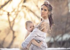 Photographer Captures These Mothers Outdoors In An Attempt To Help Raise Breastfeeding Awarenes