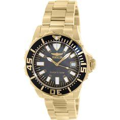 Invicta Women's Pro Diver 10626 Gold Stainless-Steel Quartz Watch
