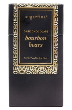 $28 Free shipping and returns on sugarfina Dark Chocolate Bourbon Bears at Nordstrom.com. A perfect gift or party treat, these indulgent gummies are infused with single-barrel bourbon and dipped in rich, 64% Parisian dark chocolate for a magical blend of flavors.