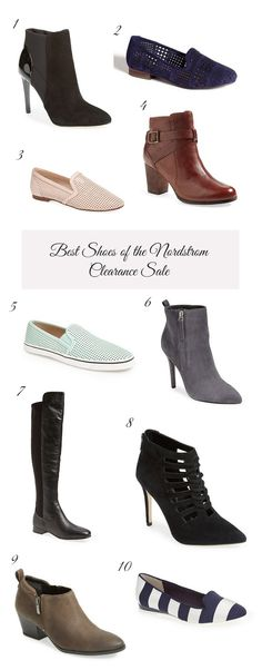 The BEST shoes of the Nordstrom Clearance Sale! #nsale  #sale #deals #nordstrom This includes my favorite, most comfortable flats of all time that I bought on SALE for $60, and now they are on sale for $39.97!! It also includes some amazing boots and booties :)