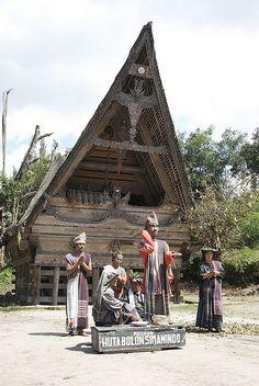 Batak Huta Bolon Museum by Yulian Firdaus, via Flickr
