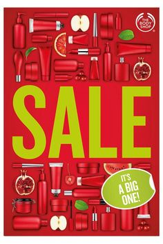 Body Shops Pre-Holiday Sale Poster
