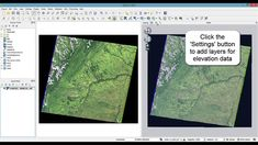 QGIS tutorial : Visualize your DEM and imagery layers in 3D
