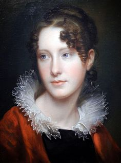 Portrait of Rosabla Peale by Rembrandt Peale, 1820