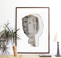 Oversized Wall Art, Extra Large Print, Poster Size Artwork, Big Drawing, Modern Home Decor, 27 x 38
