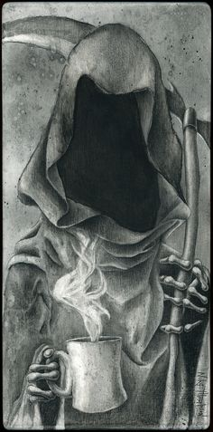 Charcoal on wood Dark Roast, Charcoal, Painting, Character, Painting Art, Paintings, Painted Canvas, Lettering, Drawings