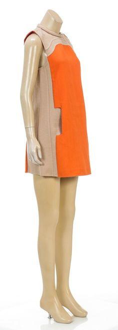 Marc Jacobs short dress Beige/Orange on Tradesy