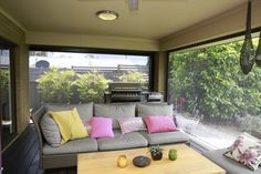 Outdoor Sectional, Sectional Sofa, Classic Blinds, Outdoor Furniture Sets, Outdoor Decor, Shutters, Home Decor, Classic Roller Blinds, Blinds