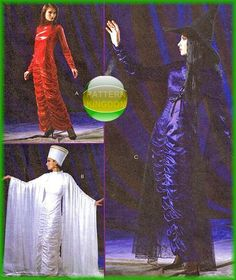 McCalls 4625 Gothic Wicca Vampire Cleopatra Dress Pattern