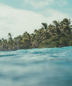 The ocean breathes salty.