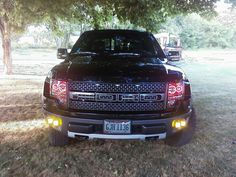 This is my dads decked out Raptor and i love it. I cant wait to own one someday. The raptor is the best truck on the planet. I cant wait to drive it.