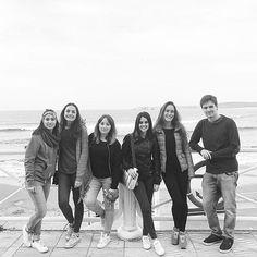 🌊🏄 #buenasolas #surf #surfteam #salinas #asturias #mujereh #semanasanta #vacaciones #beach #travel #girls #bn #blackandwhite #instapic #picoftheday #montereylocals #salinaslocals- posted by Nacho Poveda https://www.instagram.com/nacho.poveda - See more of Salinas, CA at http://salinaslocals.com