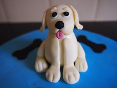 Sweet Inspirations By Sarah: How to make a fondant dog - tutorial