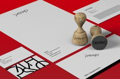 Graphic Design Inspiration #brand #stationary #design