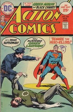 Cover for Action Comics #444 (1975)