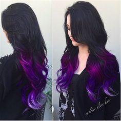 hair, hair color, tips, purple, purple hair Dye My Hair, New Hair, Cool Hair Color, Hair Color Tips, Vivid Hair Color, Gorgeous Hair Color, Bright Hair Colors, Grunge Hair, Hair Dos