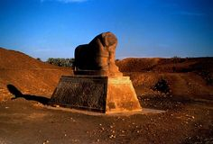 Ancient lion statue in Babylon, Iraq, photo by: gustaf wallen, used under Creative Commons License(By SA 2.0)