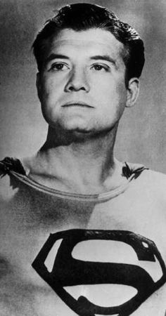 Actor George Reeves portrayed Superman in the 1950s television series. (Associated Press)