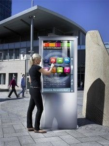 customer experience digital signage displays information interactive kiosk self…