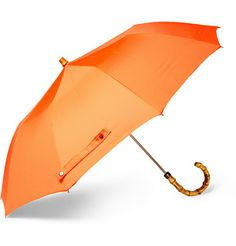 London Undercover Collapsible Bamboo-Handle Umbrella   MR PORTER