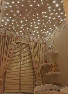 在家里摘星星 给小小的卧室制造小浪漫❤