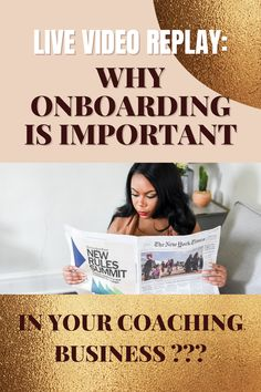 Creating an onboarding experience in your coaching business elevates the program journey for each client. Learn how I create a memorable experience and what I provide to each client who applies and is accepted to The Founder's Circle program. Be The Boss, Coaching, How To Memorize Things, Journey, How To Apply, Learning, Create, Business, Training