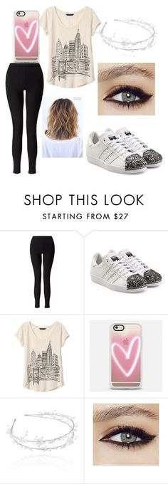 """""""Untitled #147"""" by dale-adah ❤ liked on Polyvore featuring Miss Selfridge, adidas Originals, Banana Republic and Casetify"""