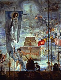 Le rêve de Christophe Colomb, par Salvador Dali