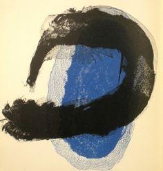 Livre Illustré - Joan Miró - Derriere le Miroir n. 128.