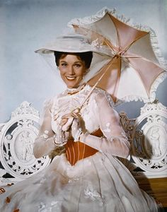 Mary Poppins..I absolutely LOVE Julie Andrews!! I can probably sing all her movies word for word.  :)