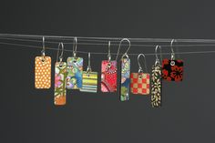 Paper Julep Earrings - Squared Minis | Flickr - Photo Sharing!