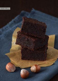 Brownie jugoso sin gluten para el #DíaDelBrownie
