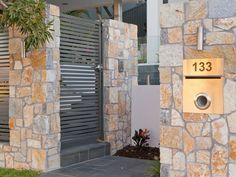 Eco Outdoor Coolum limestone random ahslar walling and bluestone paving used in contemporary landscape design. Eco Outdoor | Utopia Landscape Design | Landscape Surrounds | Coolum limestone random ashlar walling | bluestone pavers | livelifeoutdoors | Outdoor Design | Natural stone flooring + walling | Garden design | Outdoor paving | Outdoor design inspiration | Outdoor style | Outdoor ideas | Luxury homes | Paving ideas | Garden ideas | Modern + Contemporary