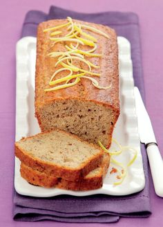 Yami Yami, Banana Bread, Paleo, Fresh, Cooking, Fitness, Diet, Lemon, Kitchen