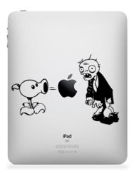 Owl iPad, iPad 2 or iPad 3 Sticker Decal Plants Vs Zombies, Macbook Decal, Patrick Star, Techno, Mickey Mouse, Disney Characters, Fictional Characters, Decals, Owl